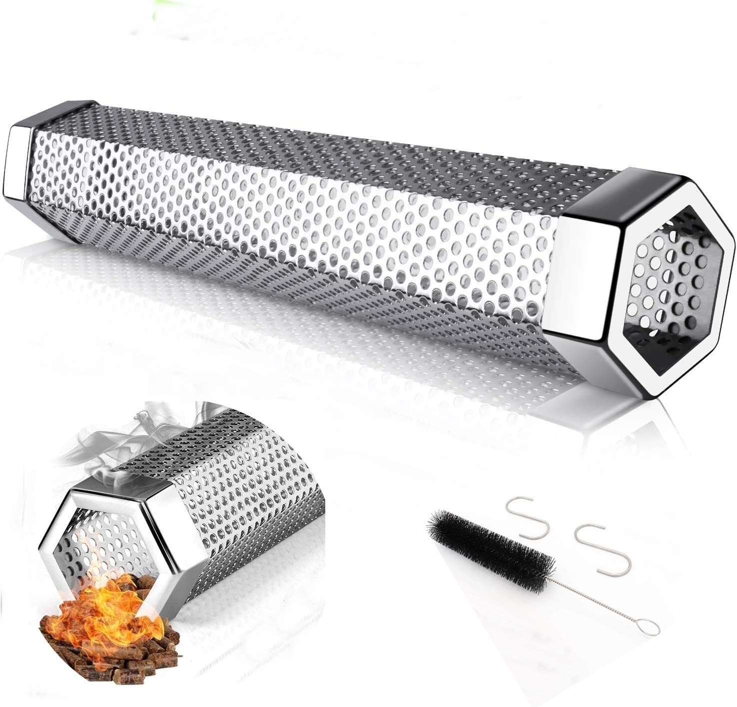 IBETTERN Smoke NEW Tube New color for Pellet BBQ Grill - Smoker 12