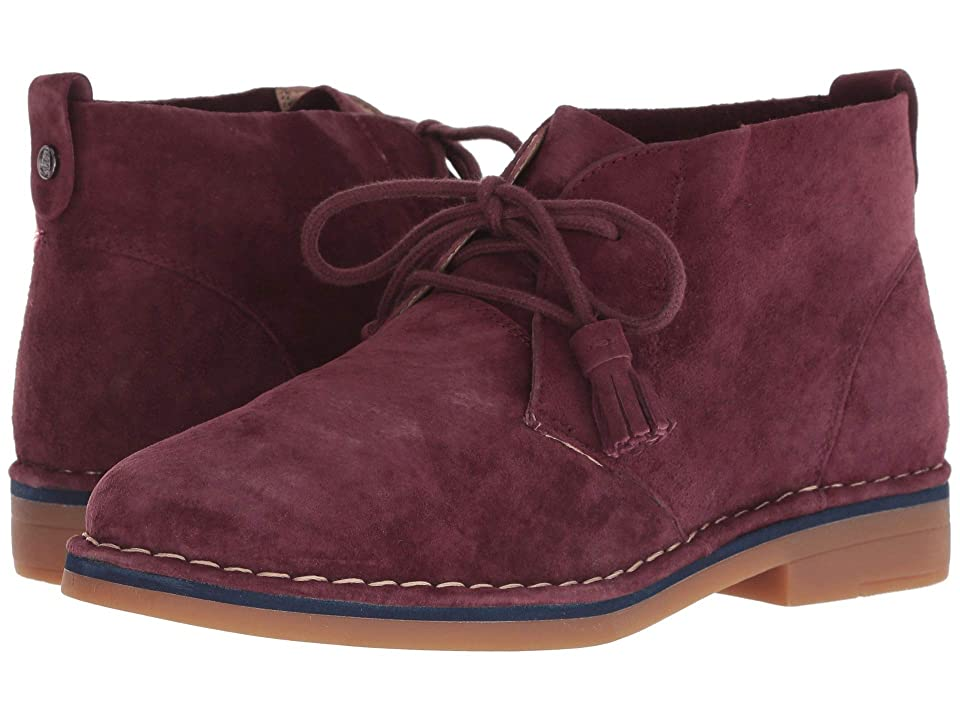 Hush Puppies Cyra Catelyn (Dark Wine Suede) Women