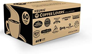 Keurig Coffee Lovers' Collection Variety Pack, Single-Serve Coffee K-Cup Pods Sampler, 60 Count