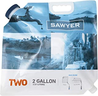 Sawyer Products SP109 Two-Gallon Water Bladder for Mini and Squeeze Filters, Blue, 2-Gallon