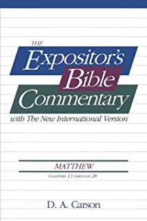 Matthew, Vol.2 (Ch. 13-28), The Expositor's Bible Commentary