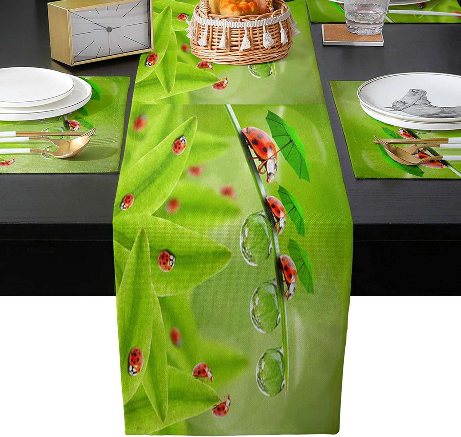 Artwork Store 70 Inch Table Runner and お見舞い 6 f of 日本未発売 Kits Placemats Set