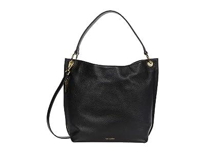 Ted Baker Chhloee Hobo (Black) Hobo Handbags