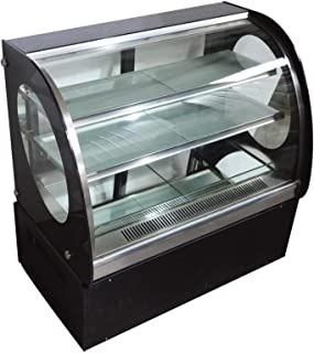 INTBUYING Countertop Cake Show case Commercial Refrigerated Pie Display Cabinet 220V
