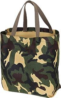 Rothco Canvas Camo And Solid Tote Bag, Woodland Camo