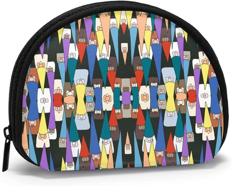 Gnome God Chrismas FSERSANHW Coin Purse Small Cute Fashion Purse Pouch Mini Colorful Wallet Coin Bag Present
