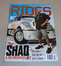 RIDES MAGAZINE JULY/AUGUST 2006 *SHAQ/RICK ROSS/SCOTT STORCH