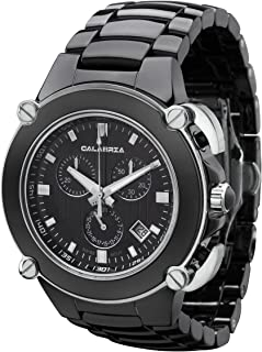 Sottomarino Collection - ABISSO - Hi-Tech Ceramic and Silver Tone Chronograph Men's Watch