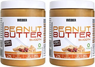 Weider Pack Duo Peanut Butter 1Kg 2 Unidades (2 kg) Precio