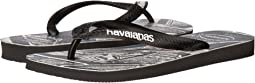 Havaianas Top Marvel Black Panther Flip-Flops