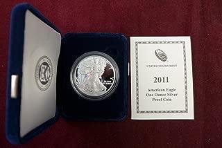 2011 W Silver Eagle Proof Dollar US Mint