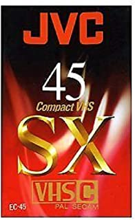 JVC EC 45 SX Blank Tapes