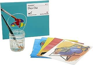 Active Minds Escapadas Aquapaint: Pintura de Agua Reutilizable / Actividad artística para Personas ancianas con Demencia / Alzheimer's