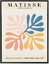 "theprintkinect Henri Matisse Poster Print Wall Art The Cutouts Exhibition Fine Art Print (18"" x 24"")"