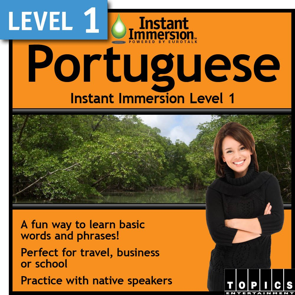 Instant Immersion Max 49% OFF Level 1 Portuguese - free shipping Download
