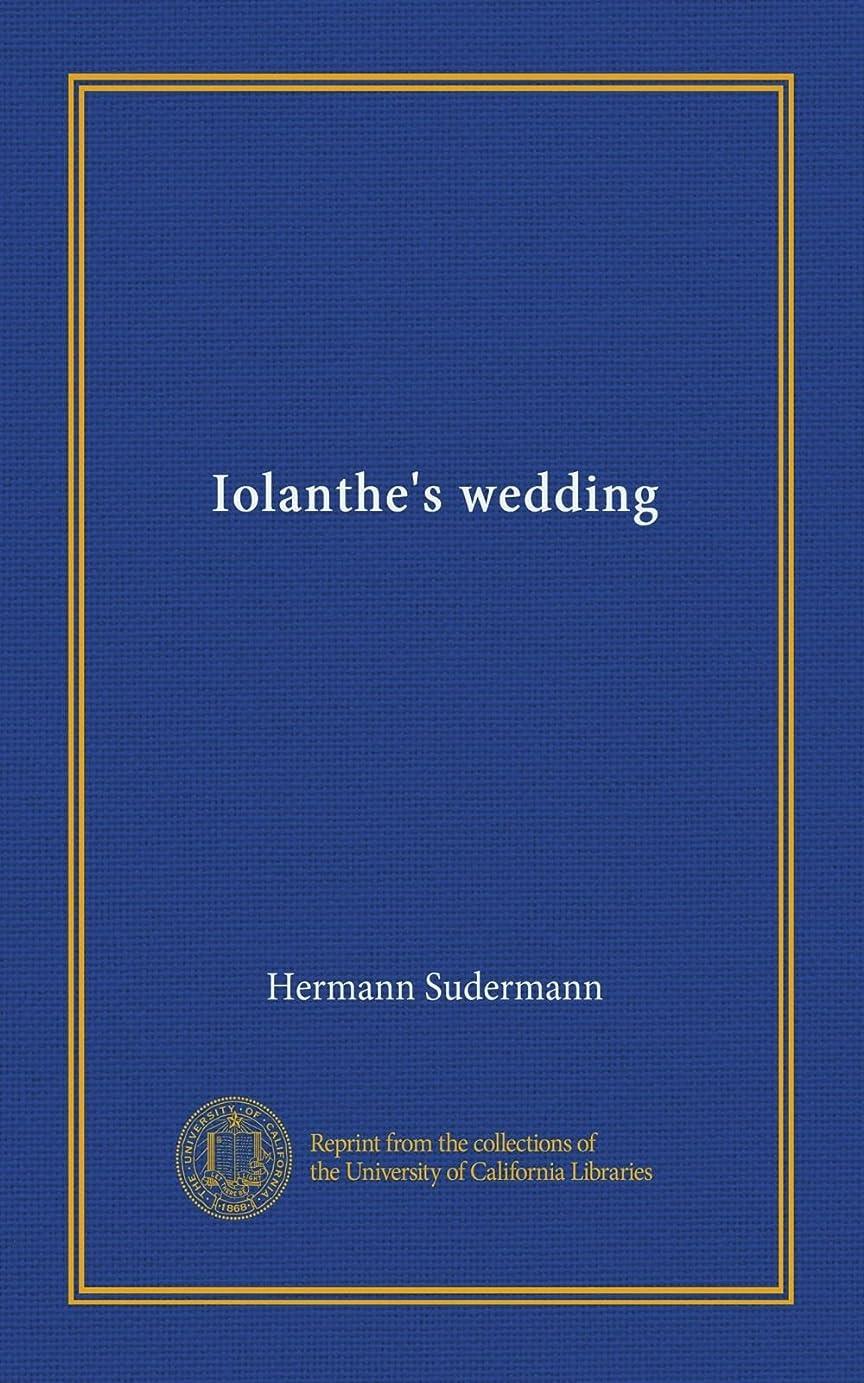 カラス品種引用Iolanthe's wedding