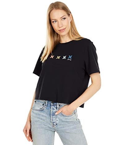 Hurley Icons United Washed Cropped Tee