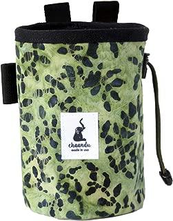 chaandu Green Camo Batik Chalk Bag with Belt