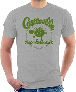 CYDADA Castroville Artichoke Festival Stranger Things Men's T-Shirt