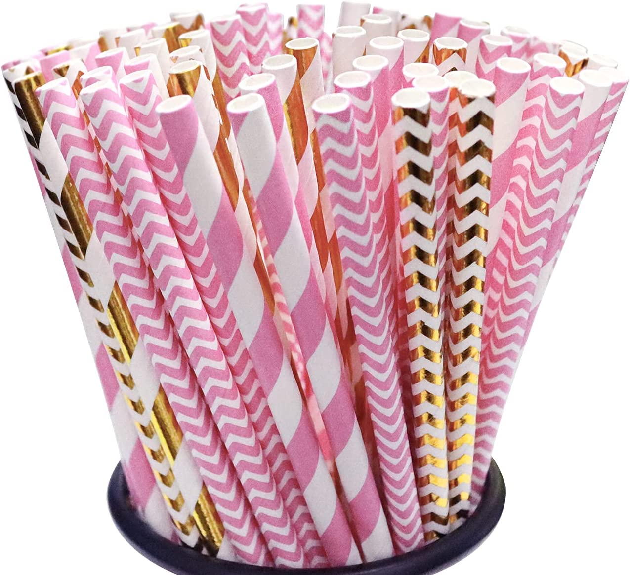 200 Pack Disposable Drinking Long Beach Raleigh Mall Mall Straws Paper Biodegradable