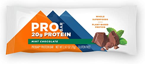Pro Bar – Base Protein Bars Box Mint Chocolate – 12 Bars Estimated Price : £ 54,35