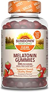 Sponsored Ad - Sundown Melatonin Nutritional Supplements, 150 Count (Packaging May Vary)