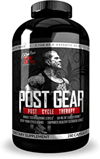 Rich Piana 5% Nutrition Post Gear PCT Support (240 Capsules) 30 Servings