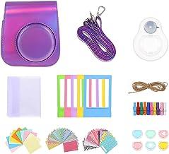 FRCOLOR 1 Set Camera Case Bag Adjustable Shoulder Strap DIY Instant Print Camera Case with Print Paper Films Cartoon Stick...