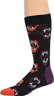 Happy Socks Unisex Halloween Fang Print Socks
