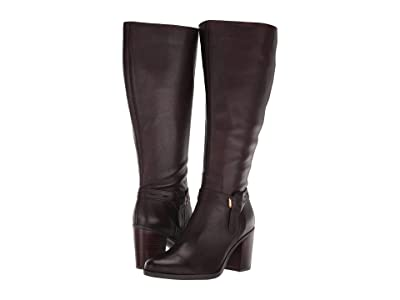 Naturalizer Kamora Wide Calf (Chocolate Leather WC 1) Women