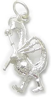 Schottland Sterlingsilber Charm .925 X 1 Schottisch Schotten BJ2230