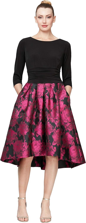 S.L. Fashions Women's Formal Elegant Party Dress
