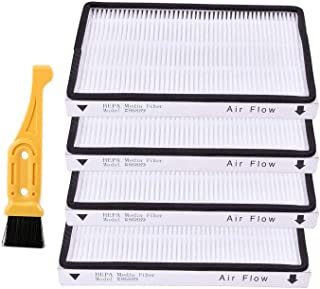 LGLR 4 Pack Vacuum Cleaner HEPA Filter for Sears Kenmore EF-1, Part #86889, 20-86889,20-53295, KC38KCEN1000,Also for Panas...