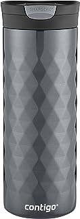 Contigo SNAPSEAL Kenton Vacuum-Insulated Stainless Steel Travel Mug, 20 oz, Gunmetal