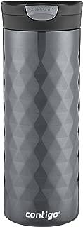 Contigo 康迪克 SnapSeal Kenton不锈钢旅行马克杯,20盎司(约591毫升),青铜色
