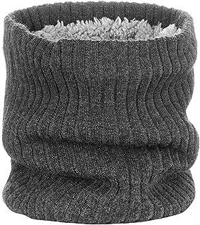 Gebreide sjaal Tube Head Shield kopschildbesturingsmiddelen Headwear Neck Tube sjaal voor Fietsen Snowboard Skiën Donkergr...