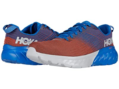 Hoka One One Mach 3 (Imperial Blue/Mandarin Red) Men