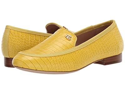LAUREN Ralph Lauren Clair (Sun/Sun Soft Mini Croc/Grosgrain) Women