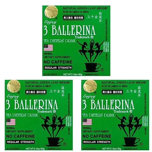 3 balerina tea fogyás áttekintés
