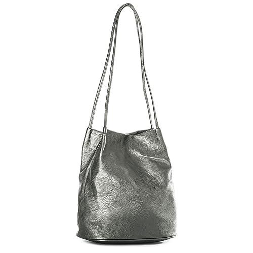 7f8da35e46428 Big Handbag Shop Womans Fashion Designer Medium Size Plain Soft Vegan  Leather Hobo Bucket Tote Shoulder