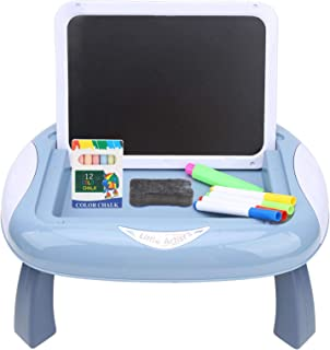 Chevalet d'art double face, chevalet d'art magnétique éducatif pour l'apprentissage pour les enfants pour les tout-petits(...