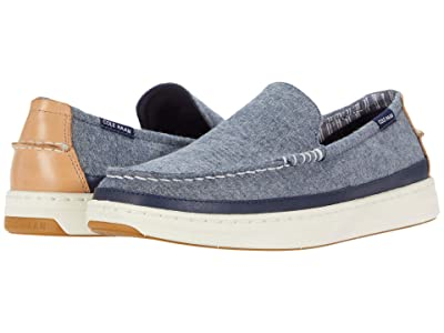 Cole Haan Cloudfeel Slip-On Sneaker (Blue Chambray) Men