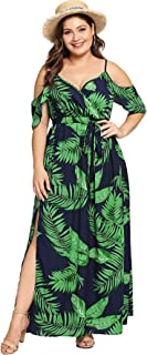 casual long summer dresses plus size