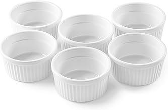 Bellemain Porcelain Ramekins, set of 6 (4 oz. white)