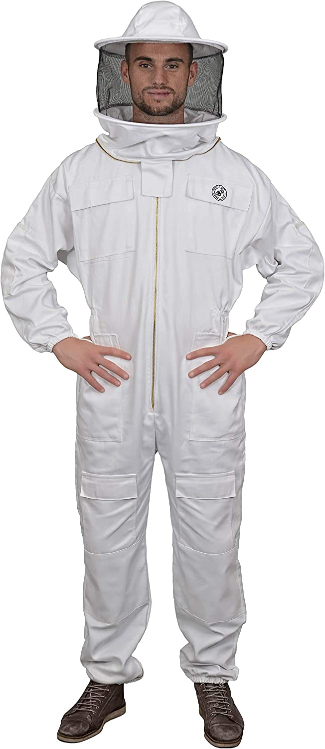 Humble Bee 410 Polycotton Beekeeping Suit Veil Bargain El Paso Mall Round with