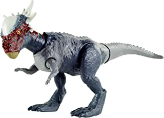 Jurassic World Camp Cretaceous Savage Strike Stygimoloch Stiggy Dinosaur Figure, Smaller Size, Attack Move Iconic to Species, Movable Arms & Legs, Ages 4 Years Old & Up