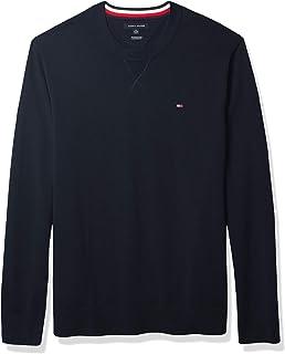 Men's Big and Tall Sweater Signature Solid Crewneck