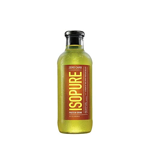 Isopure 40g Protein, Zero Carb Ready-To-Drink- Pineapple Orange Banana, 20 Ounce (Pack of 12)