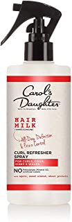 Curly Hair Products by Carol`s Daughter, Hair Milk Curl Refresher Spray For Curls, Coils and Waves, with Agave, Sweet Almo...