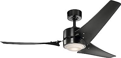 Kichler 310155SBK 60``Ceiling Fan, Satin Black
